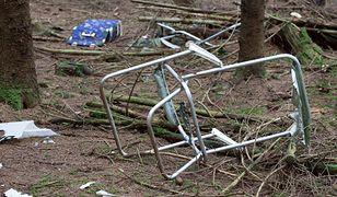 Śląsk. Zamiast zutylizować śmieci wywieźli je do lasu