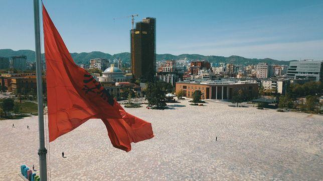 Tirana w czasie pandemii