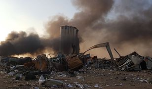 Bejrut. W stolicy Libanu doszło do potężnej eksplozji