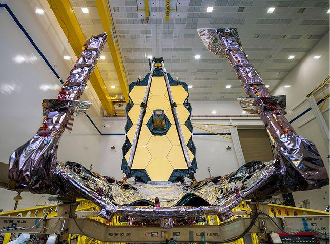 NASA: prace nad Teleskopem Jamesa Webba ukończone. Wkrótce ostateczny test