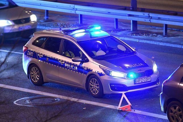 Warszawa. Kolizja na S8. Zderzenie ciężarówki z samochodem osobowym / foto ilustracyjne