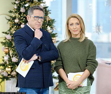 """Andrzej Sołtysik i Anna Kalczyńska zanotowali wpadkę w """"Dzień Dobry TVN"""""""