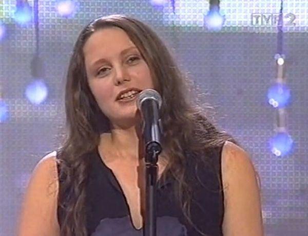 Natalia Sikora w 2003 roku