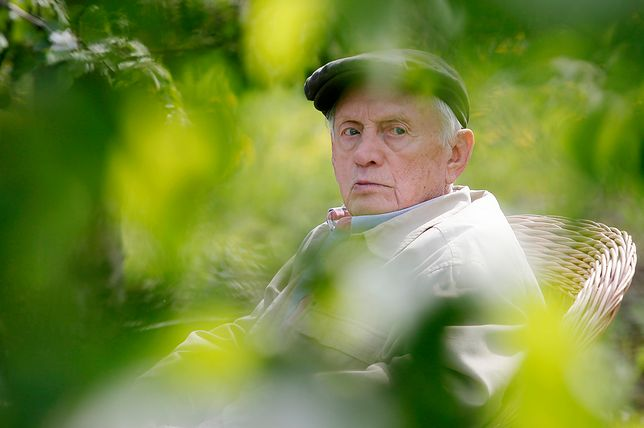 """Witold Pyrkosz na planie """"M jak miłość"""""""