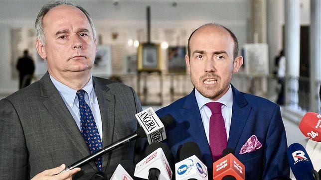 Paweł Zalewski i Borys Budka
