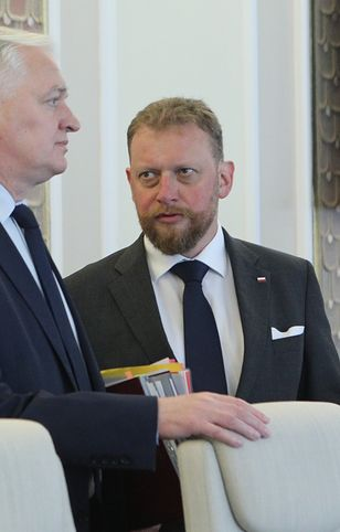 Jarosław Gowin i Łukasz Szumowski.