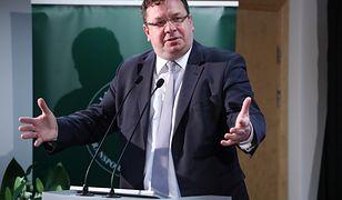 Michał Wójcik - wiceminister sprawiedliwości