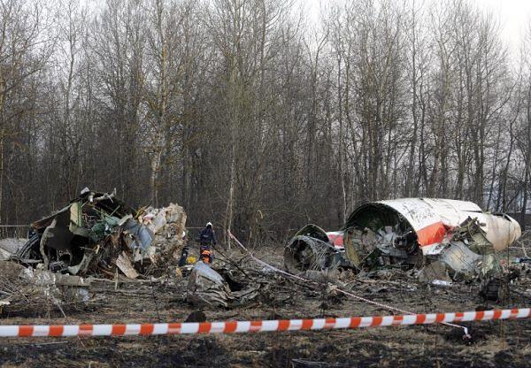 Miejsce katastrofy prezydenckiego tupolewa