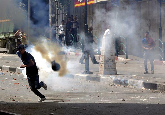 Starcia między Palestyńczykami a policją izraelską - dziesiątki rannych