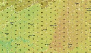 W sobotę nad ranem temperatura spadnie nawet do 9 stopni.