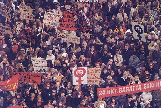 41 lat temu sparaliżowały Islandię. Teraz wspierają Polki i piszą do polskich posłów