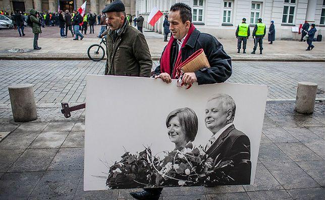 Zdjęcie Marii i Lecha Kaczyńskich