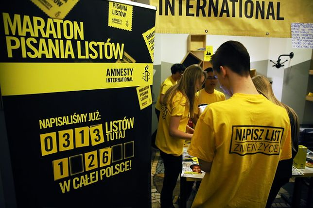 Maraton Pisania Listów Amnesty International. To już 16 taka akcja