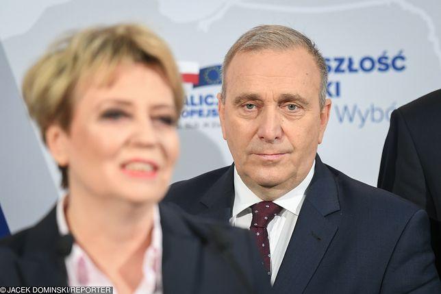 """Wybory parlamentarne 2019. Grzegorz Schetyna ujawnił """"jedynki"""" Koalicji Europejskiej"""