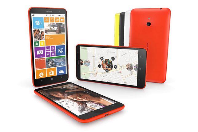 Nokia Lumia 1320 - tani, 6-calowy smartfon