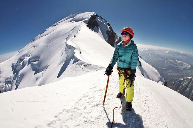 Alexander Piegza zdobywa kolejne szczyty. Mont Blanc już za nim