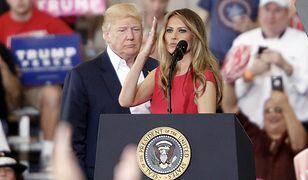 Melania Trump wystąpiła po raz pierwszy od inauguracji
