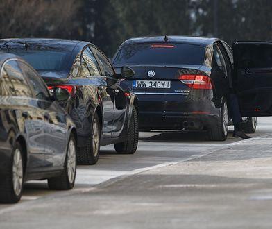 Rządowa flota aut. Takimi samochodami jeżdżą urzędnicy