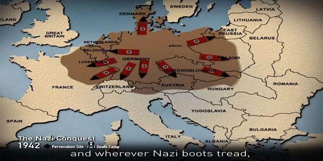 Skandal z mapami na filmie w Jerozolimie. Nic się nie zgadza