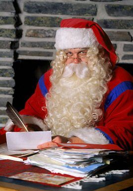 Święty Mikołaj tłumaczy się ze zwłoki