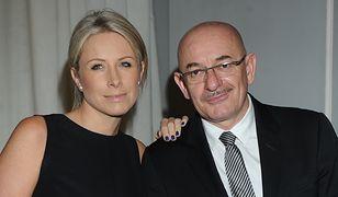 Marcin Daniec z żoną Dominiką