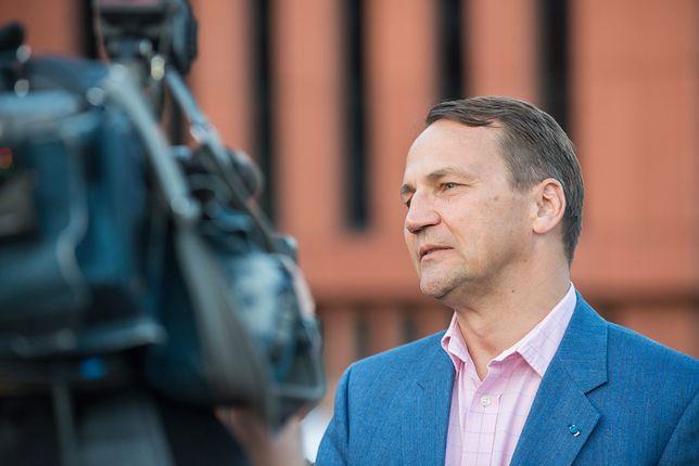 Sikorski: Nie wracam do polityki
