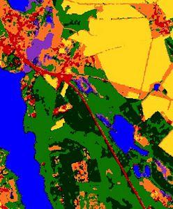 Polska widziana z kosmosu. Powstała specjalna mapa