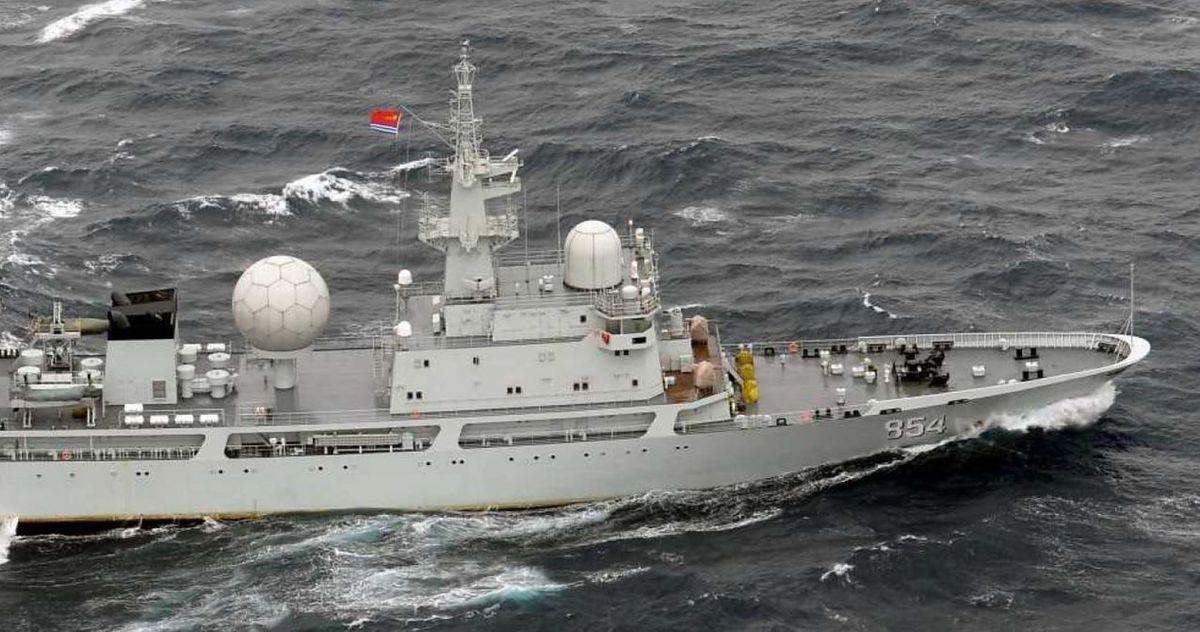 Statek Type 815G Tianlangxing; zdjęcie ilustracyjne