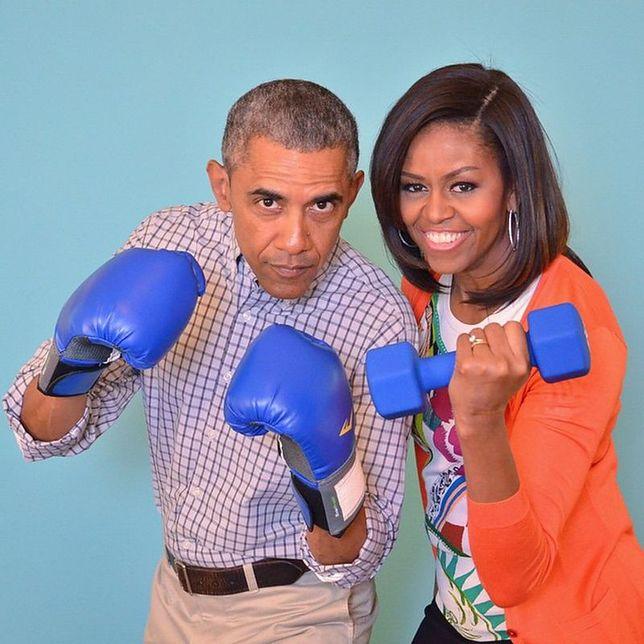 Państwo Obama na pierwszej randce