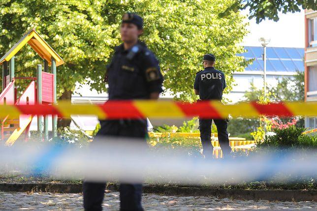Policja na miejscu tragedii w Goeteborgu