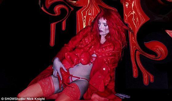 Kate Moss - pożądanie