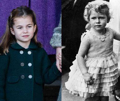 Królowa Elżbieta II przypomina prawnuczkę
