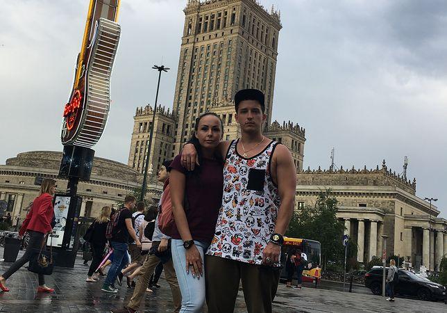 Zakochany w Warszawie Bogdan ze swoją drugą żoną