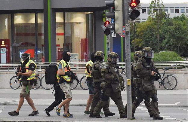 Policjanci w Monachium