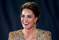 Księżna Kate na premierze nowego Bonda. Wyglądała niczym gwiazda Hollywood