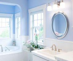 Niebieska łazienka - bliżej nieba. Aranżacje błękitnej łazienki