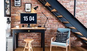 Ceglana ściana to piękna ozdoba każdego pomieszczenia