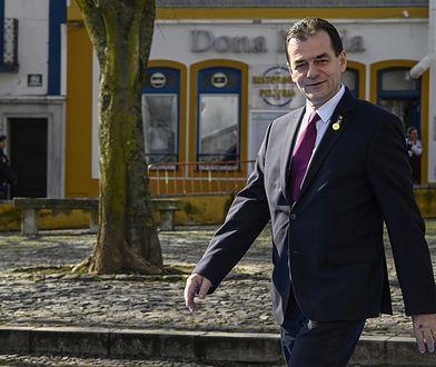 Koronawirus. Rumunia. Premier Ludovic Orban został ukarany grzywną za złamanie przepisów sanitarnych
