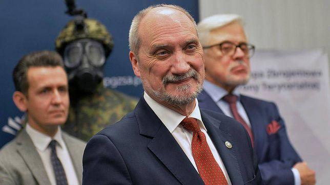 Minister obrony Antoni Macierewicz