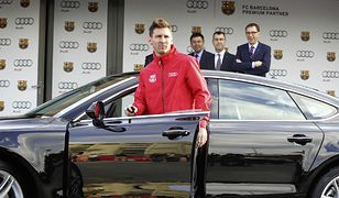 Messi, Pique, Suarez i spółka dostali za darmo nowe Audi