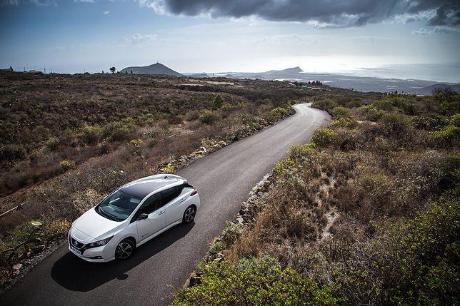 Nissan Leaf - nowy model na rok 2018 / fot. Mateusz Żuchowski