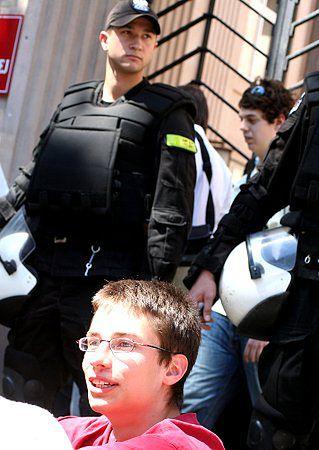 Uczniowie kontra minister Giertych - zatrzymano 18 osób