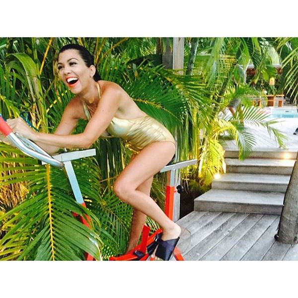 Kourtney Kardashian zrzuciła 45 kilogramów
