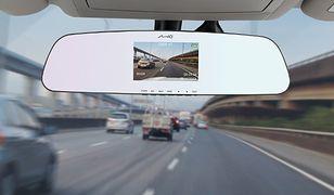 Wideorejestrator samochodowy wbudowany w lusterko - Mio MiVue R30