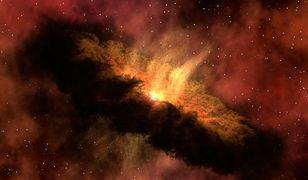 Tajemniczy, migający obiekt. Znajduje się w centrum naszej galaktyki