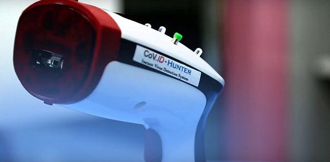 Naukowcy opracowali urządzenie COVID Hunter. Ma pomóc w wykrywaniu koronawirusa