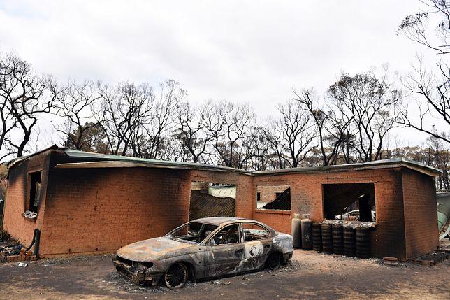 Ogień zniszczył miasto Balmoral w Nowej Południowej Walii