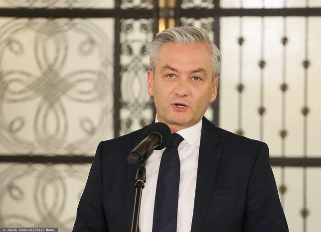 Białoruś. Robert Biedroń nie dostał pozwolenia na wjazd