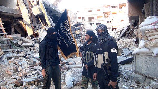 Członkowie Frontu Al-Nusra
