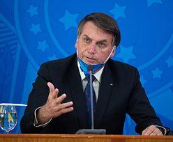 Koronawirus. Prezydent Brazylii zapowiada zmiany. Mówi o wojsku na ulicach